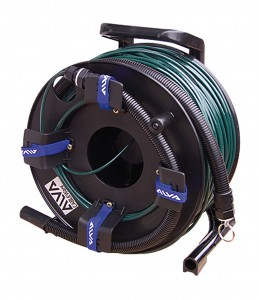 ALVA Fiber optical SC <> SC, dark green 100m
