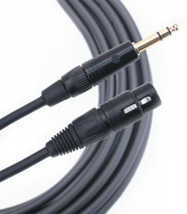 Mogami Gold Edition Line kabel TRS-XLRF 10m