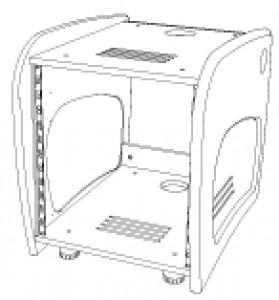 AKA Design ProWave 12U rack