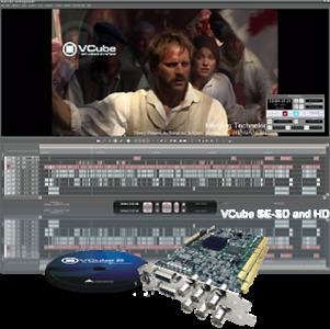 Merging Vcube Pro SE-HD