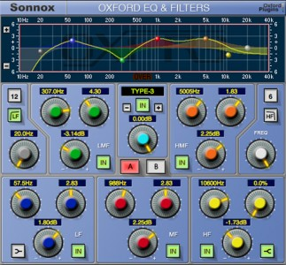 Sonnox EQ HD-HDX