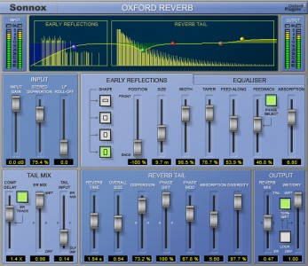 Sonnox Reverb HD-HDX