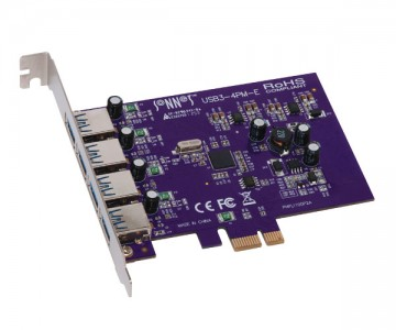Sonnet Allegro USB 3.0 PCIe Card (4 ports)