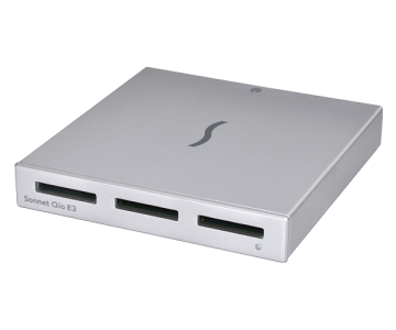 Sonnet Qio SxS Media Reader PCIe for windows