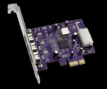 Sonnet Allegro FireWire 800 PCIe CardTI Chip