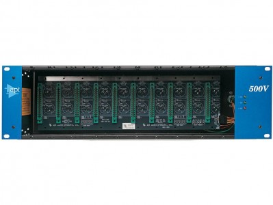API 500-VPR 10-Slot Rack with L200PS PSU