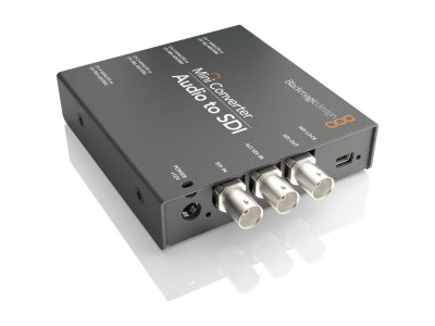 Blackmagic Mini Converter - Audio to SDI