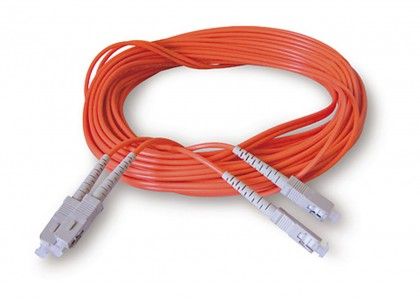 ALVA Fiber optical SC <> SC, orange 20m