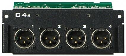 AVIOM C4o Analog Output Card