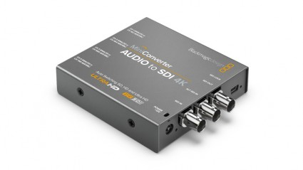 Blackmagic Design Mini Converter - Audio to SDI 4K