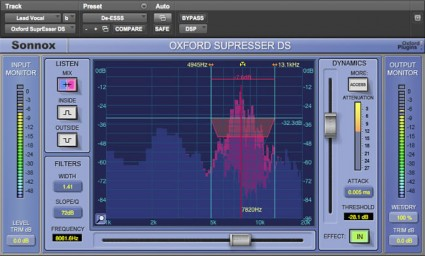 Sonnox SuprEsser DS Exchange From Native to HD-HDX
