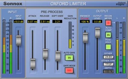 Sonnox Limiter HD-HDX