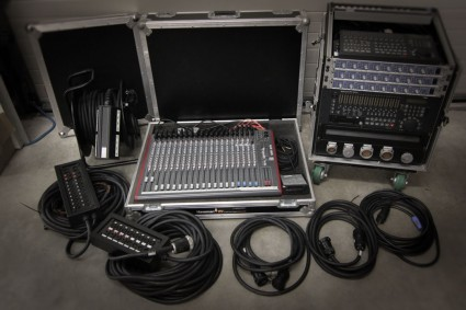 Tascam MX2424/RME Octamic/bekabeling
