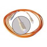 ALVA Fiber optical SC <> SC, orange 0,5m