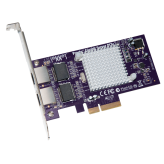 Sonnet Presto Gigabit Ethernet Server 2-Port PCIe Card