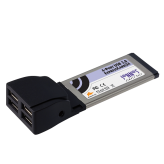 Sonnet USB 2.0 4-port ExpressCard/34