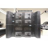 UREI amps (1x 6500, 1x 6250 en 2x 6150)