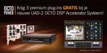 OctoPower 3 premium plugins bij nieuwe UAD-2 Octo DSP