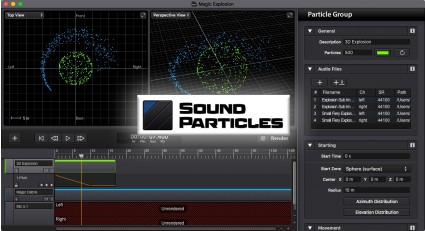 Sound Particles Software